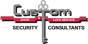 Custom Doors and Locks Logo